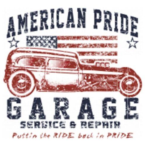 Felpa Nero v8 Hot Rod US Car /&/' 50 STYLE Motivo Modello American Pride Garage