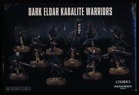 Warhammer 40k Dark Eldar Kabalite Warriors New/sealed