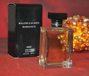 Image is loading RALPH-LAUREN-ROMANCE-After-Shave-100ml-DISCONTINUED-VERY- 27dac11068035