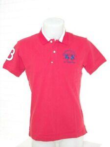 Big Logo 19 Polo Luxury Uomo Rosso Shirt Nmp315 Martina Cotone Spring Piquet La 7qIFw5tx7