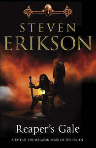 Good-Malazan-Book-of-the-Fallen-7-Reaper-039-s-Gale-Hardcover-Erikson-Steven