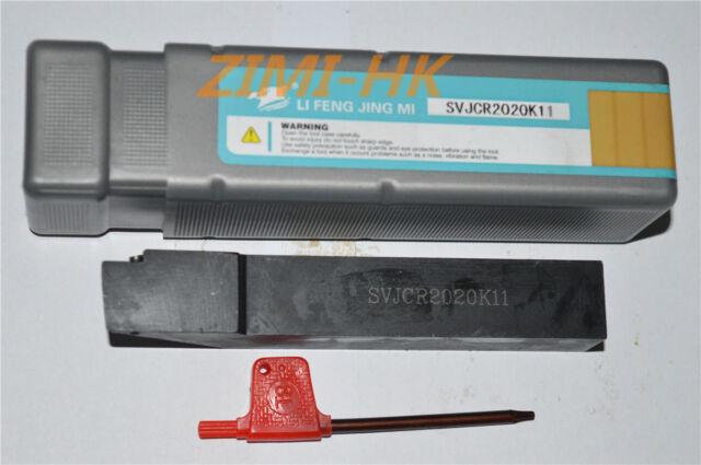 SVJCR2020K11 for VCMT 1103.VCMT1103//02 External Turning Tool Holder 93° CNC