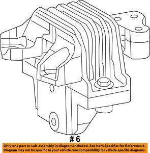 Dodge CHRYSLER OEM 2015 Dart-Engine Motor Mount//Torque Strut 68081487AG