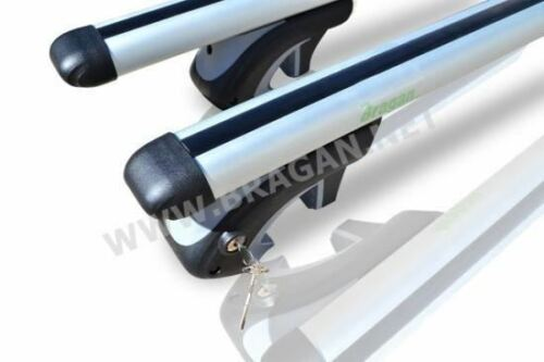 To Fit 13 Cross Bars Ford Transit Custom SWB Aluminium Metal Roof Rails