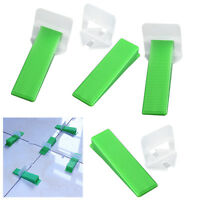 300/400pcs Flooring Level Tile Leveling Spacer System Device Balance Clips Wedge