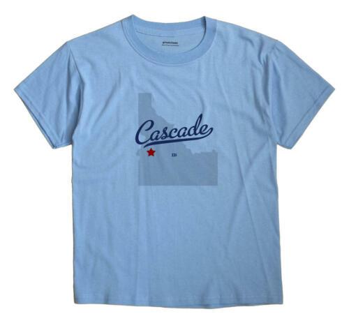 Cascade Idaho ID T-Shirt MAP