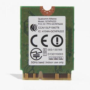 Details about Qualcomm Atheros QCNFA222 AR5BWB222 2.4/5GHz 802.11abgn  Bluetooth4.0 Wifi Card