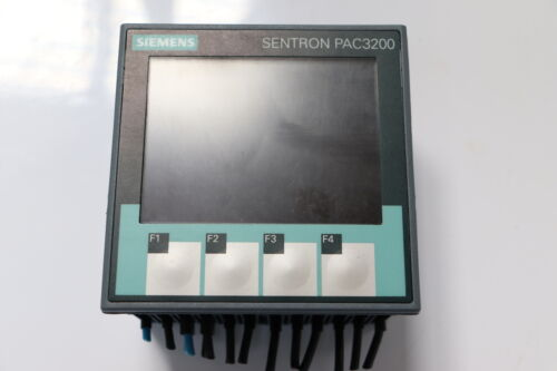 Siemens sentron pac3200 7km2112-0ba00-3aa0