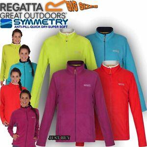 Regatta-Jacket-Womens-Clemance-Zip-Fleece-Hiking-Walking-Outdoor-Gym-Running-Top