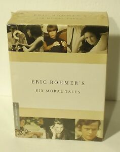 Eric-Rohmer-039-s-Six-Moral-Tales-CRITERION-COLLECTION-DVD-2006-6-Disc-Set-NEW