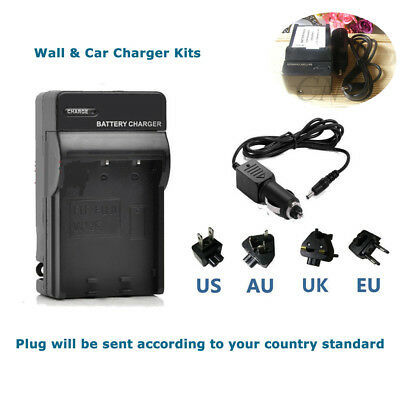 Battery Charger For Panasonic Lumix DMC-TZ55 DMC-TZ60 DMC-TZ61 DMW-BCM13E
