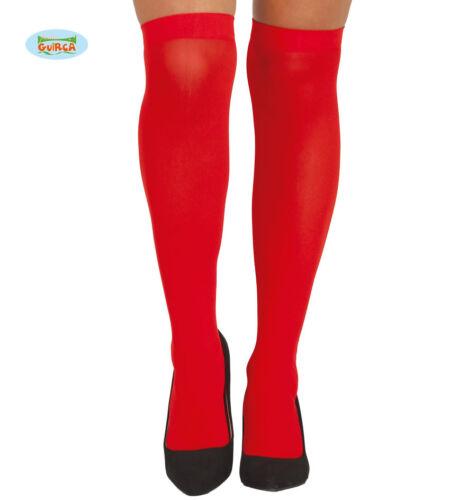 Ladies Knee High Red Stockings