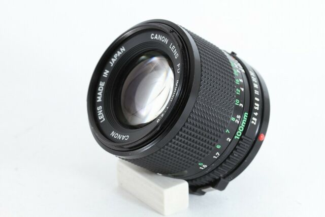 Canon NEW FD 20mm F2.8 NFD Wide Angle MF Lens From JAPAN