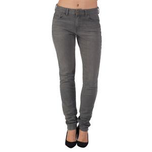 Mujer Ex M S Pantalones Vaqueros Pitillo Gris Y Azul Denim Informal Mujer Ebay