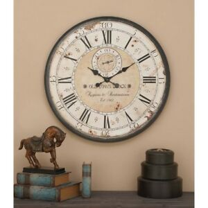 Image Is Loading Large 32 Inch Atomic Roman Wall Clock Indoor