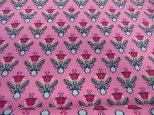 "Kleiderstoff""LUV "" by Lila Lotta  145 cm br.NEU je 50 cm - 100%BW m.Motiven"
