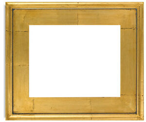 Classic Style Plein Air Antique Gold Leaf Wood Frame Size 11x14