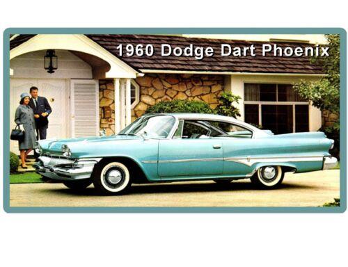1960 Dodge Dart Phoenix  Auto Refrigerator Tool Box Magnet Man cave Item