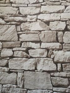 3d Tapete Steinoptik Grau : 3d steinoptik tapete grau rustikal ebay ~ Yuntae.com Dekorationen Ideen