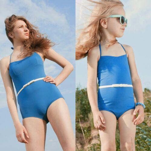 Womens Kids Girls One Piece Swimwear Swimsuit Monokini Bikini Bathing Beachwear