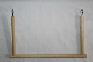 grosse-breite-Vogelschaukel-Trapezschaukel-Schaukel-Sitzstange-Wellensittich-28cm