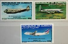DJIBOUTI DSCHIBUTI 1983 363-65 C177-9 Flugzeuge Air France Airline Airplanes MNH