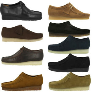 Details zu Clarks Wallabee Schuhe Herren Halbschuhe Schnürschuhe Mokassin Weaver Desert