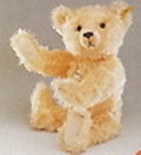 STEIFF   CLASSIC TEDDY BEAR  APRICOT  MOHAIR WITH GROWLER EAN 005022