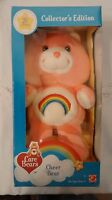 Collectors Edition 20th Anniversary Care Bear Bears Cheer Pink Rainbow 2003