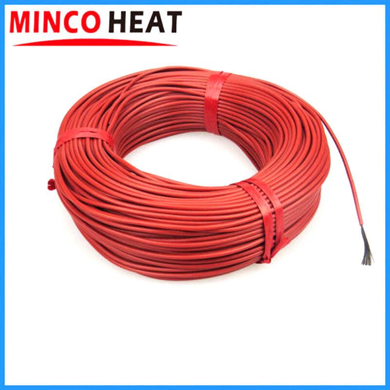 Minco 12K 33 Ohm/m Carbon Fiber Underfloor Heating Cable Floor Warming