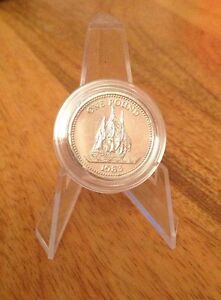 Very rare 1983 Bailiwick Of Guernsey Sailing Ship 1 one pound coin In Capsule - <span itemprop=availableAtOrFrom>Runcorn, Cheshire, United Kingdom</span> - Very rare 1983 Bailiwick Of Guernsey Sailing Ship 1 one pound coin In Capsule - Runcorn, Cheshire, United Kingdom