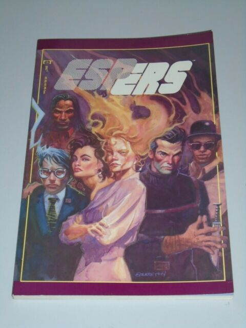 Espers Epic Comics James D. Hudnall (Paperback)< 0871356937