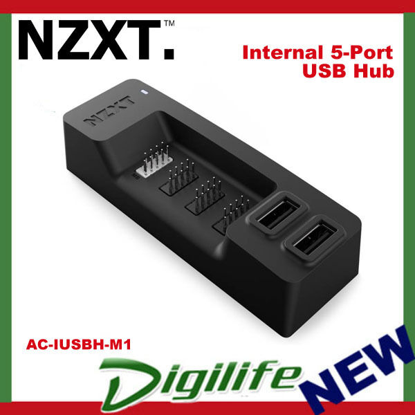 AC-IUSBH-M1 NZXT Internal USB Hub Controller Black