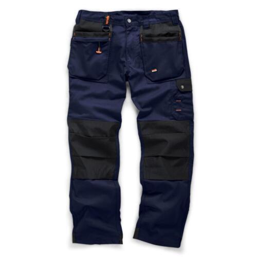 Para Hombre The Scruffs trabajador Plus Pantalones de trabajo de peso medio Pantalones Rodillera workfree Kneepad