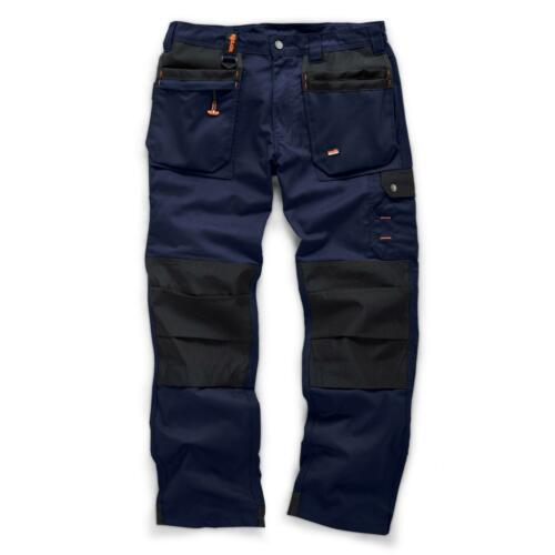 Da Uomo Scruffs Lavoratore Plus Pantaloni Lavoro mid-weight Pantaloni Knee Pad workfree Kneepad