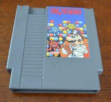 Dr. Mario TESTED TETRIS STYLE PUZZLE (Nintendo, 1990) NES