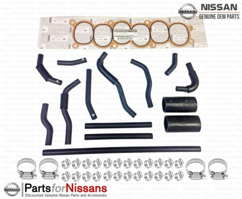 GENUINE NISSAN 300ZX Z32 NON TURBO COOLANT BYPASS HOSE KIT NEW OEM