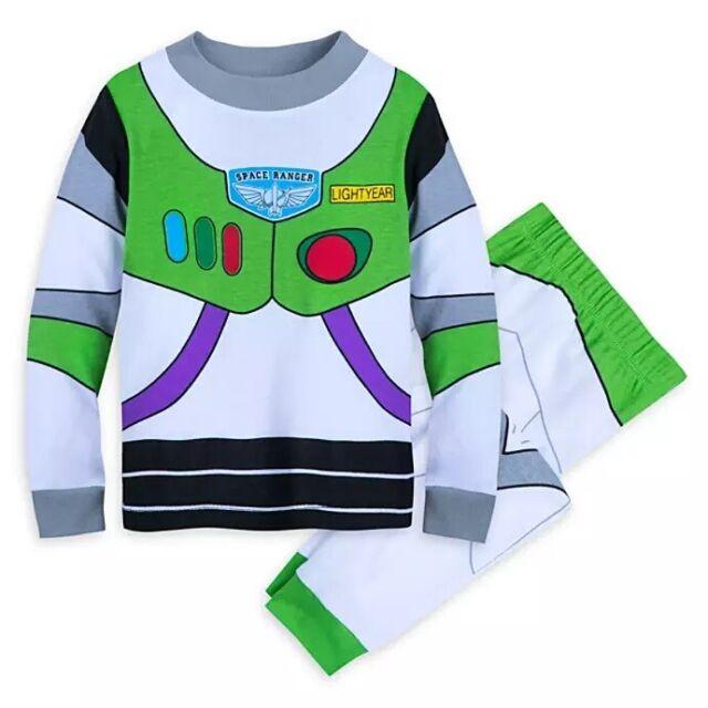 Disney Toy Story Toddler Boys Pajamas Long Sleeve 4 Piece 2 Sets Buzz Woody NWT