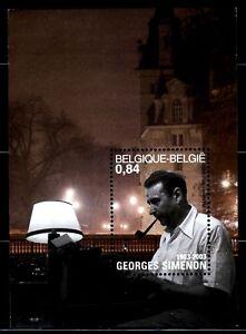 SELLOS-TEMA-CINE-BELGICA-2003-Georges-Simenon-HB-95