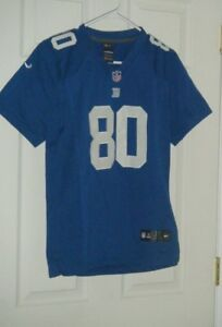 New York Giants NFL Blue Victor Cruz 80 Nike Kids Jersey Size Large ... 5cf745b2f