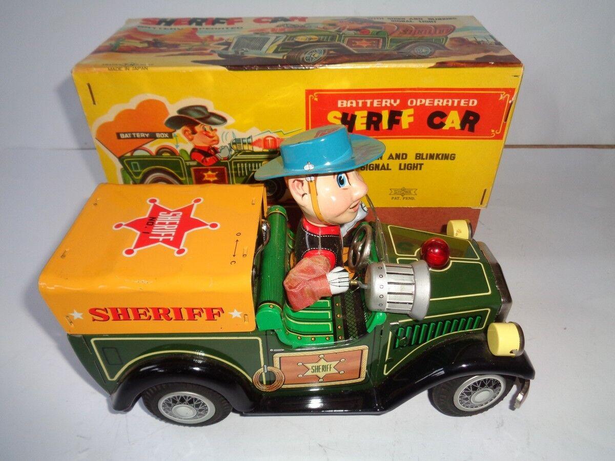 T.N. Nomura Sheriff Car with Box