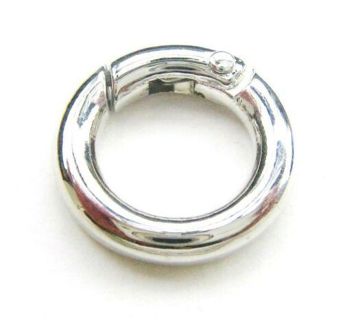 Cierre de tipo mosquetón anillo donut cadenas cierre 20mm serajosy schmuckverschluß