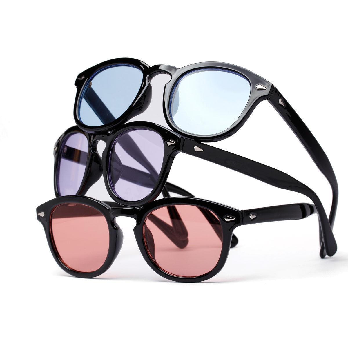 31c633b39b Colored Tinted Fashion Eyeglasses Frame Vintage Retro Clear Lens ...