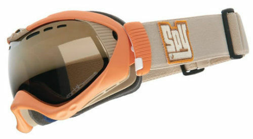 NEW Spy Orbit Snow Goggles Matte arancia / Bronze oro Mirror