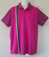 Nwtnike Golf Dri-fit Sport Graphic Polo Shirt Stripe Modern Classic Topmen 2xl