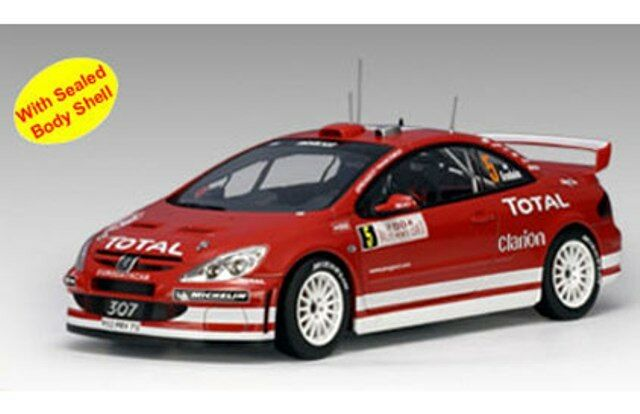 Autoart Autoart Autoart 80455 80555 80556 80557 80558 Peugeot 307 Wrc Rally & Road Cars 1 18 Th 0270c4