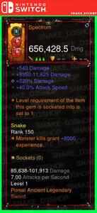 Details about Diablo 3 Nintendo Switch - PRIMAL Modded Weapon - Spectrum -  Rainbow Sword