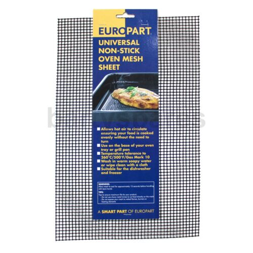 Non Stick Food Oven Browning Tray Mesh Sheet for Healthier Quicker Food 37.5cm