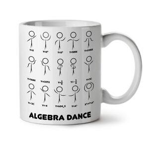 Algebra Math Dance NEW White Tea Coffee Mug 11 oz | Wellcoda