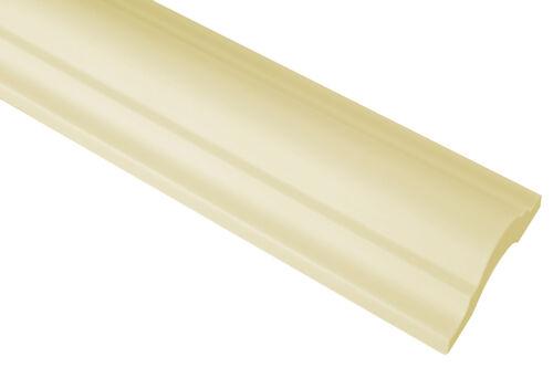 2 Meter Flachprofil Leiste Wand Innen Stuck flexibel 40x18 mm CR810 FLEXI